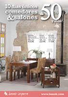 Ofertas de Banak Importa, 10 días únicos comedores & salones al -50% y más! - Valencia