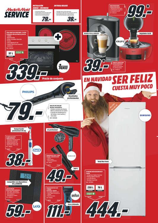 Ofertas de Media Markt, En Navidad ser feliz cuesta muy poco - Valladolid