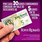 Ofertas de Tony Romas, 30x5