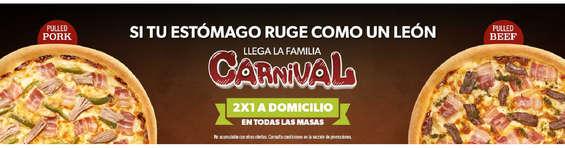 Ofertas de Domino's Pizza, Carnival