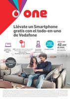 Ofertas de Vodafone, Llévate un Smartphone gratis con el todo-en-uno de Vodafone