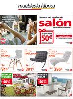 Ofertas de Muebles La Fábrica, Semana del mueble de salón