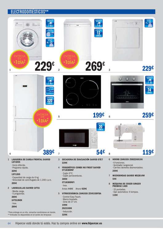 Hipercor lavavajillas ofertas y cat logos destacados - Ofertas lavavajillas alcampo ...