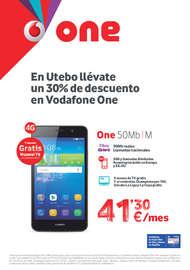En Utebo llévate un 30% de descuento en Vodafone One