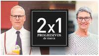 2x1 en progresivos de marca