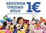 Ofertas de Disney Store, Segunda unidad solo 1€