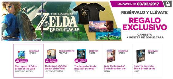Ofertas de GAME, The legend of Zelda