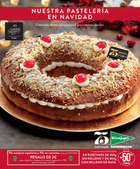 Nuestra pastelería en Navidad