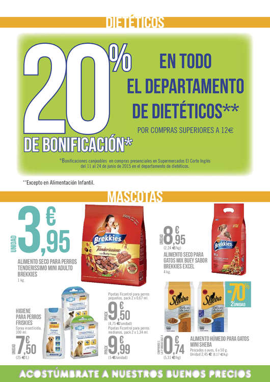 Ofertas de El Corte Inglés, -70%