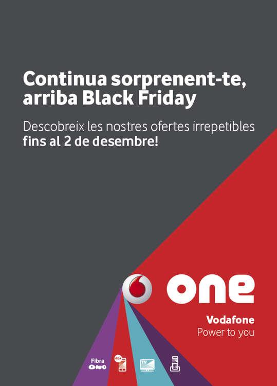 Ofertas de Vodafone, Black friday