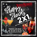 Ofertas de Tony Romas, Happy Hour