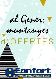 Al Gener: muntanyes d'ofertes