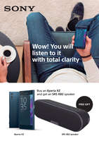 Ofertas de Vodafone, Wow! You will listen to it with total clarity