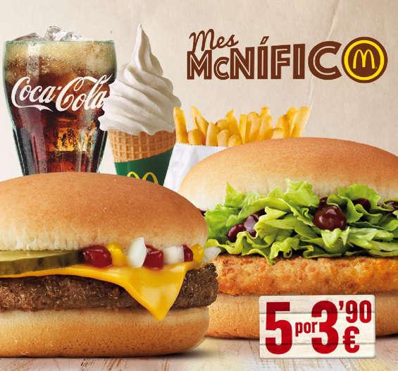 Ofertas de McDonald's, Mes McNífico