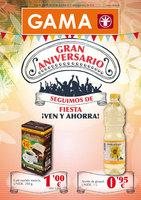 Ofertas de Supermercados Gama, Gran Aniversario