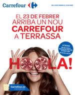 Ofertas de Carrefour, El 23 de febrer arriba un nou Carrefour a Terrassa