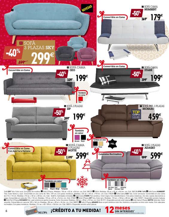 Conforama sof s ofertas y cat logos destacados ofertia - Conforama sevilla catalogo ...