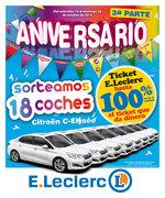 Ofertas de E. Leclerc, Sorteamos 18 coches