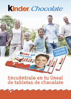 Ofertas de Kinder Chocolate, Kinder Chocolate