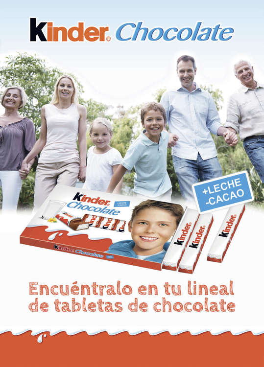Ofertas de Lidl, Kinder Chocolate