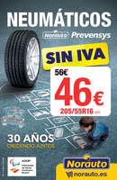 Ofertas de Norauto, Sin IVA en Neumáticos Prevensys