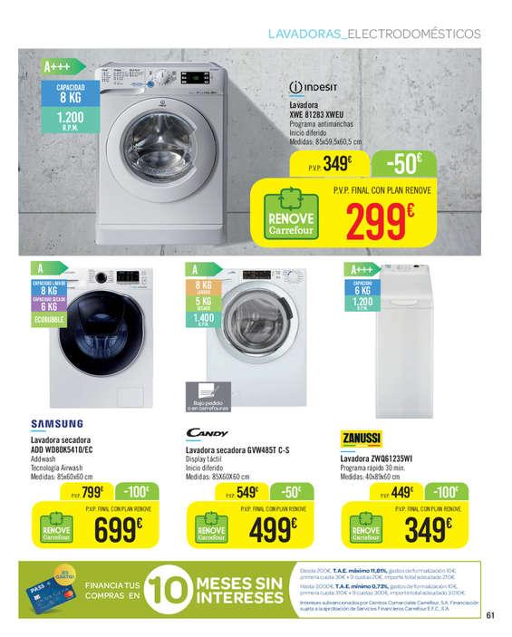 Comprar lavadora secadora barato en alcal de henares for Mueble lavadora carrefour