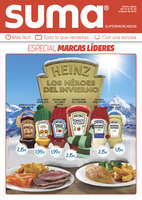 Ofertas de Suma Supermercados, Especial marcas líderes