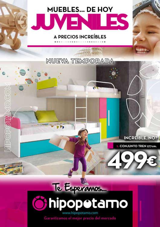 Hipop tamo alcarr s ofertas cat logo y folletos ofertia for Dormitorios juveniles hipopotamo