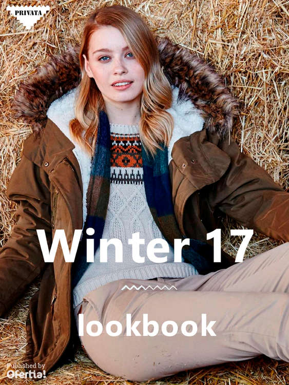 Ofertas de Privata, Winter 17 Lookbook
