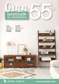 Gran selección de muebles hasta el 55% - Valladolid