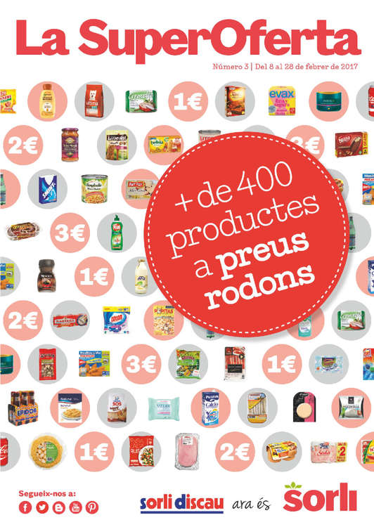 Ofertas de Sorli Discau, Més de 400 productes a preus rodons