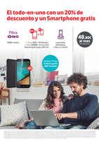 Ofertas de Vodafone, El todo-en-uno con un 20% de descuento y un Smartphone gratis