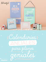 Ofertas de Mr Wonderful, Calendarios