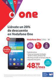 Llévate un 20% de descuento en Vodafone One