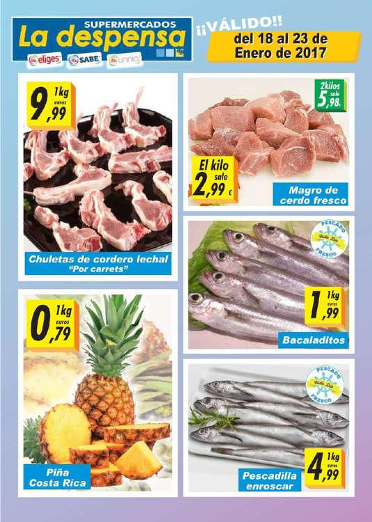 Ofertas de Supermercados La Despensa, Ofertas semanales