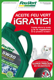 Aceite Feu Vert ¡Gratis!
