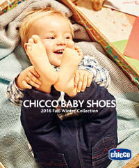 Chicco Baby Shoes - 2016 Fall Winter Collection