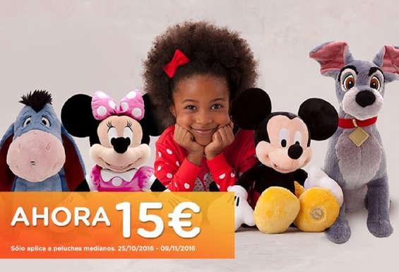Ofertas de Disney Store, Peluches Disney 15€