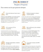 Ofertas de ING Direct, Beneficios de la Cuenta Naranja