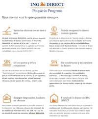 Beneficios de la Cuenta Naranja