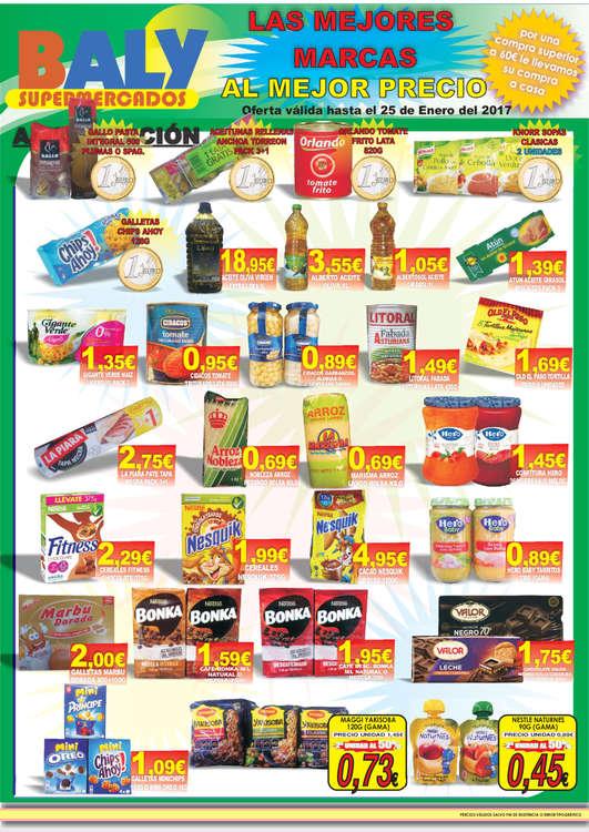 Ofertas de Baly Supermercados, Las mejores marcas al mejor precio