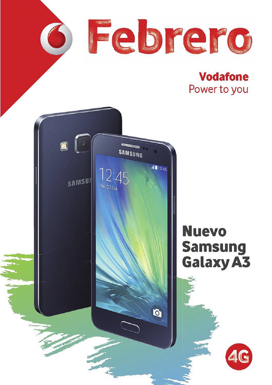 Ofertas de Vodafone, Febrero