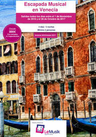 Escapada musical en Venecia
