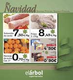Ofertas de El Árbol, En Navidad buenos precios, buenos frescos