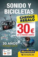 Ofertas de Norauto, Sonido y bicicletas