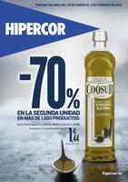 Ofertas de HiperCor, -70% en la segunda unidad