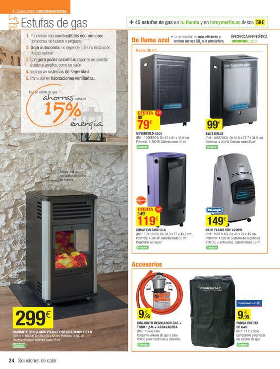 Comprar estufa de gas barato en madrid ofertia - Estufas cataliticas carrefour ...
