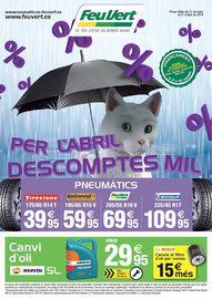 Per l'abril descomptes mil cat