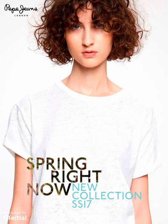 Ofertas de Pepe Jeans, Spring Right Now