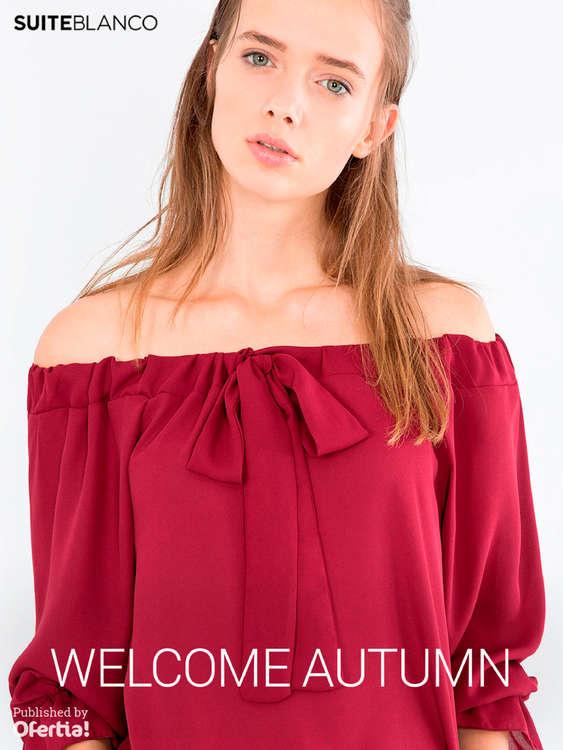 Ofertas de Blanco, Welcome Autumn